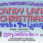 Christmas parade deadline